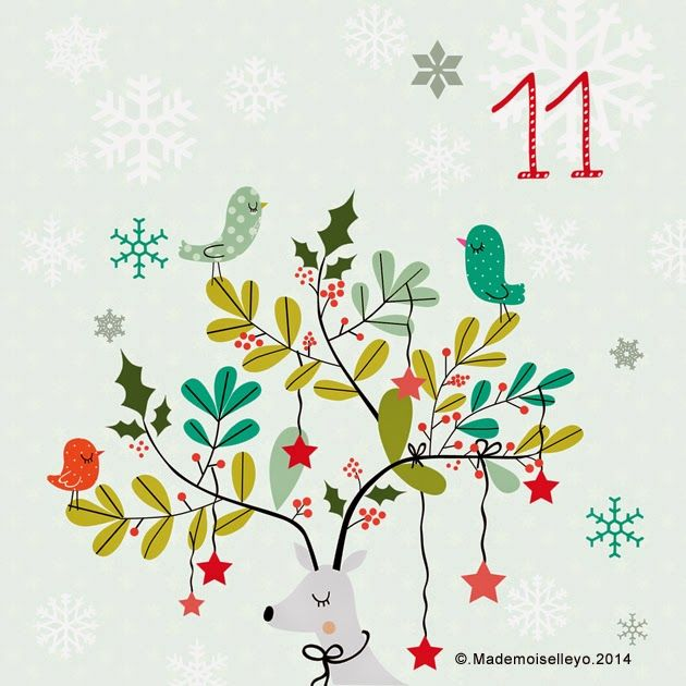 Mademoiselleyo: Advent calendar 11: