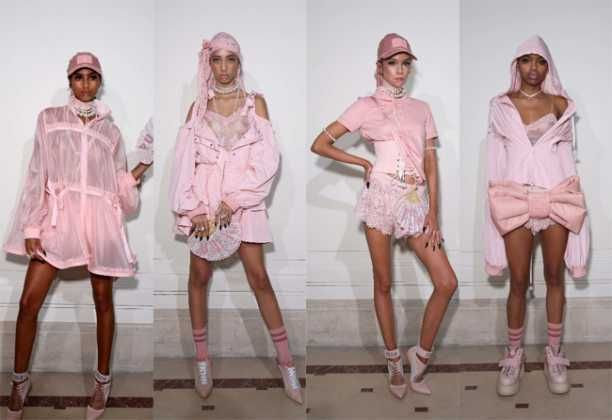 FENTY x PUMA SS17 Ready-To-Wear Collection Paris Look-01