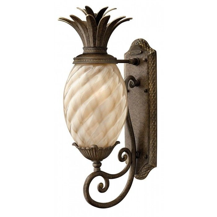 Pinapple Outdoor Wall Light