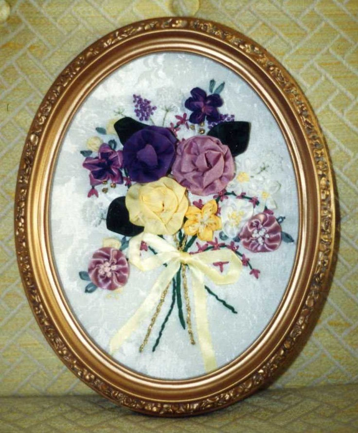 Silk Ribbon Embroidery Designed by Dee.