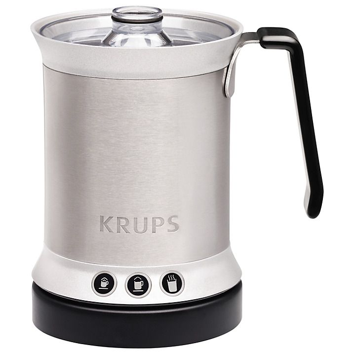 Luzern Tech - Krups Automatic Milk Frother Cappuccino, Latte and Hot Chocolate 300ml steel