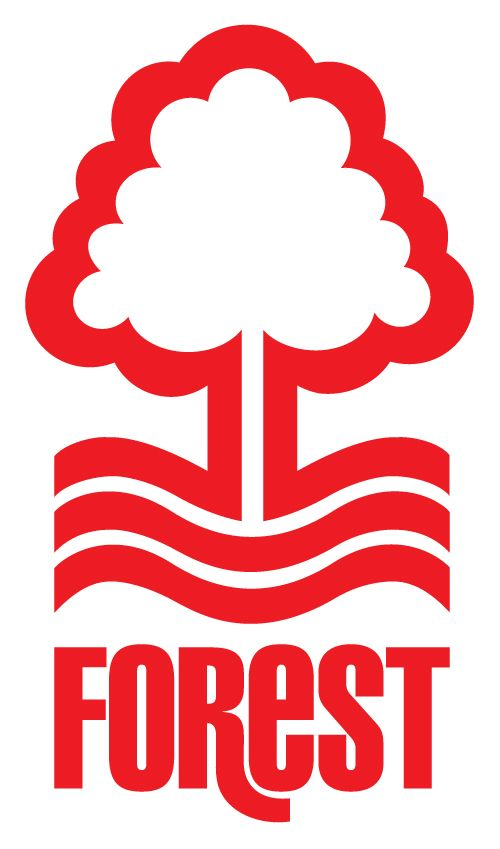 Nottingham Forest FC, my favourite English football club. :-) One of my favorite clubs and sports logos.