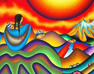pintor mamani - Buscar con Google