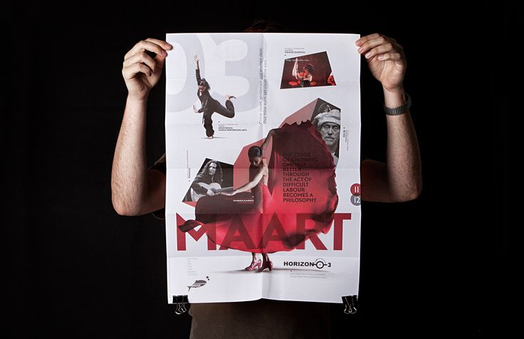 CCBrugge - Maandkrant poster   by Skinn Branding Agency