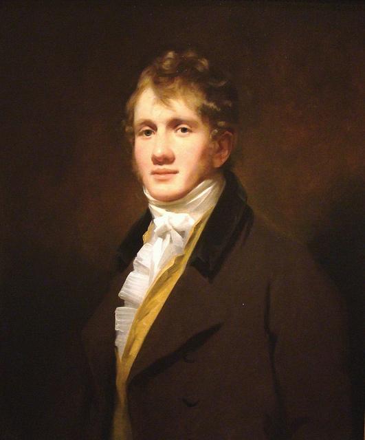 Portrait of Hugh Hope, 1810 by Sir Henry Raeburn (Scottish 1756-1823)