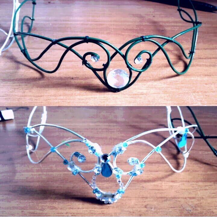 ELFIC - FAIRY CROWN (diadem) DIY (TUTORIAL)
