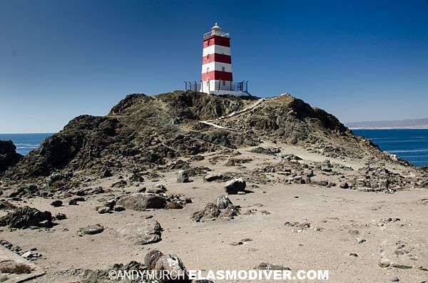 Faro De Punta | Faro de Punta Caldera - Punta Caldera Lighthouse, Caldera, Chile.