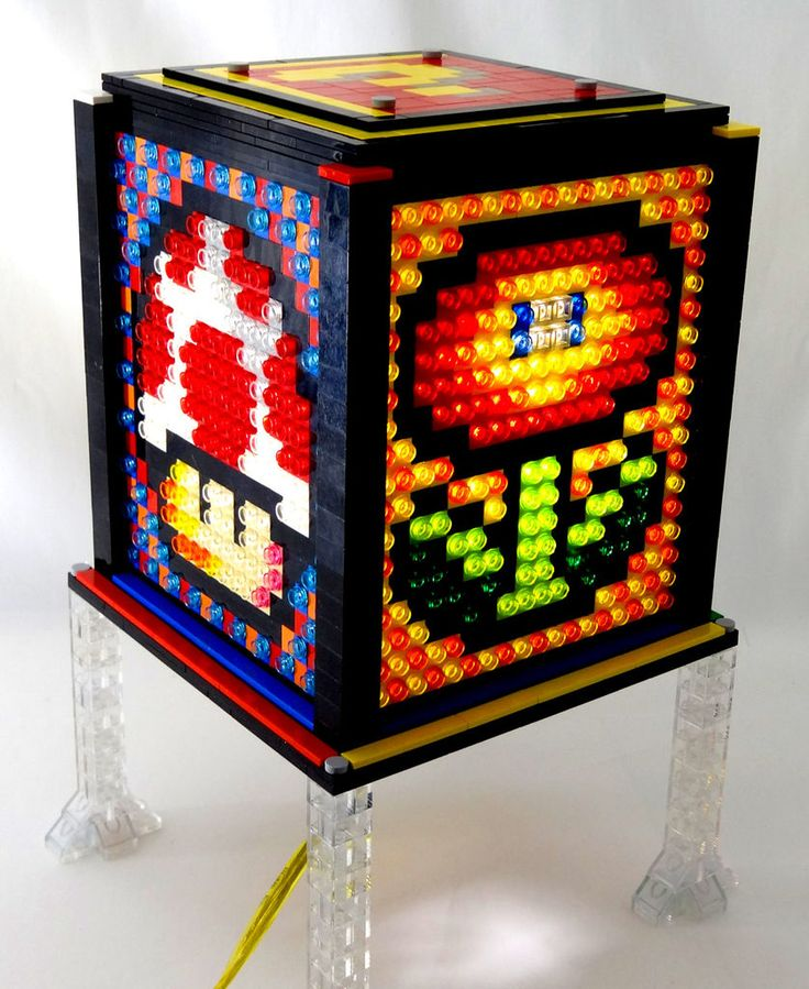 Mosaic LEGO Lamp. (Foto: Instructables)