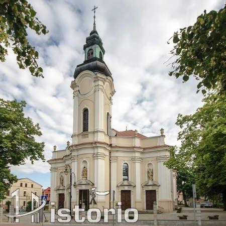 kościół w Kępnie, parafia świętego Marcina. Rzymskokatolicki kościół parafialny wybudowano w 1911 roku w miejscu poprzedniego drewnianego.