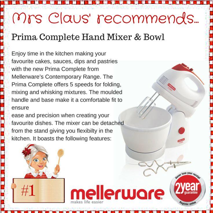 Day 1 - Prima Complete Hand Mixer & Bowl