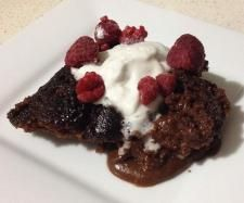 Recipe Chocolate Self Saucing Pudding (Gluten, Dairy and Refined Sugar Free) by Thermo Sensation - Recipe of category Desserts & sweets