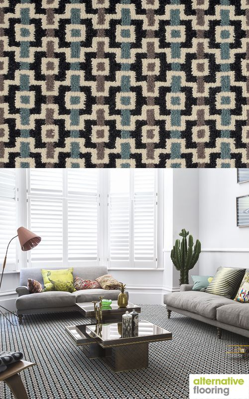 Margo Selby - Quirky B Shuttle Silas Carpet Sample