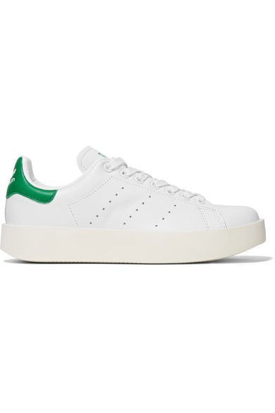 adidas Originals - Stan Smith Bold Leather Sneakers - White
