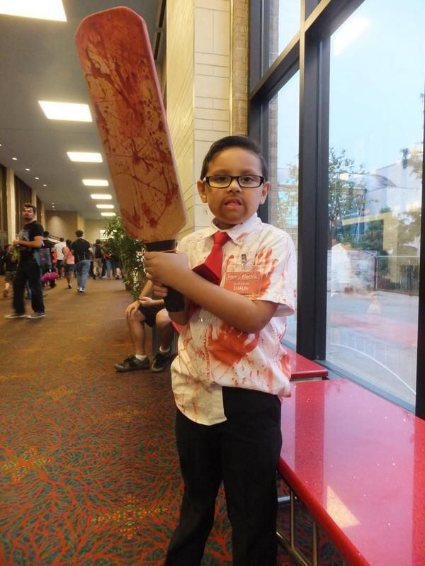 This Little Shaun Of The Dead Is Ready To Take On Zombies [Cosplay]