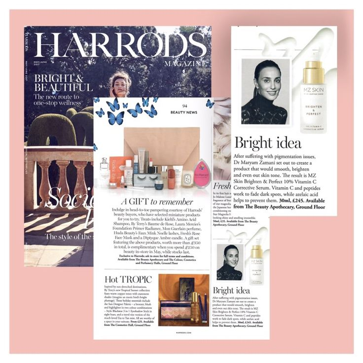 Excited to announce the launch of Brighten & Perfect at Harrods!