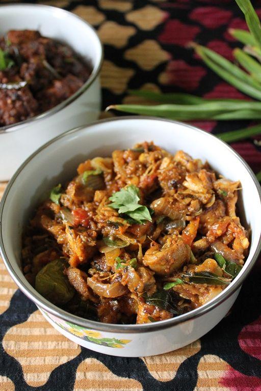 YUMMY TUMMY: Kothu Kozhi / Kothu Chicken Kari / Spicy Shredded Chicken Masala