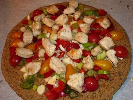 Ropogós paleo pizzatészta