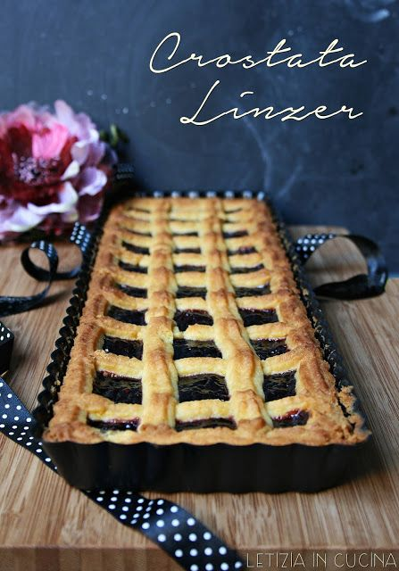 Letizia in Cucina: Crostata Linzer