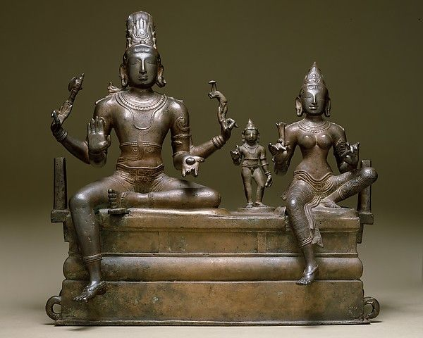 Period: Chola period (880–1279) Date: early 11th century Culture: India (Tamil Nadu) Medium: Copper alloy Dimensions: H. 29 7/8 in. (53 cm); W. 21 7/8 in. (55.6 cm); D. 10 1/4 in. (26.2 cm) Classification: Sculpture