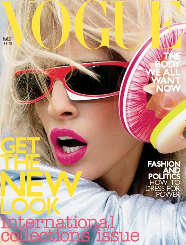 Favourite British Vogue cover of all time  Nick Knight <3 British Vogue