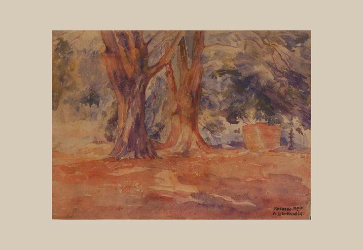 """Two Trees"" by Natalija Cvetković"