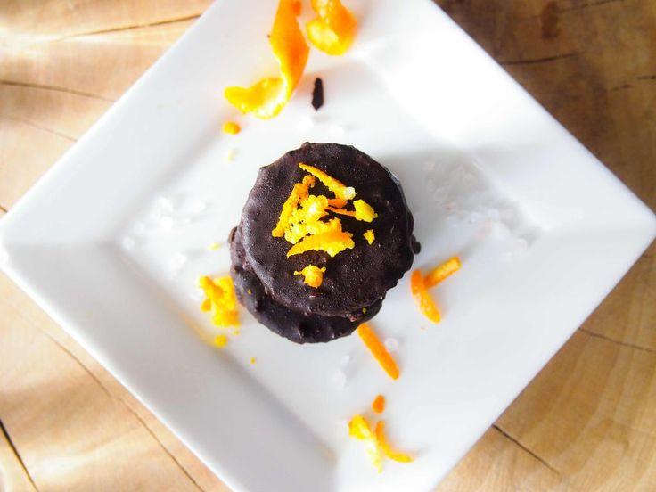 Gezonde snicker koekjes met sinaasappel twist