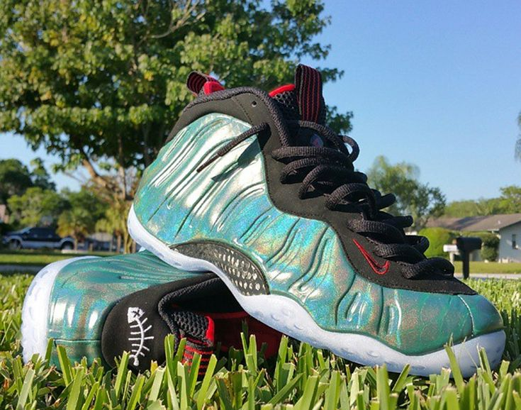 "Nike Air Foamposite One ""Gone Fishing"" Images, Release Date 