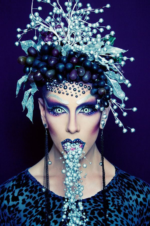 When Makeup Meets Art: Ryan Burke | http://www.beautylish.com/a/vxsvs/makeup-artist-ryan-burke