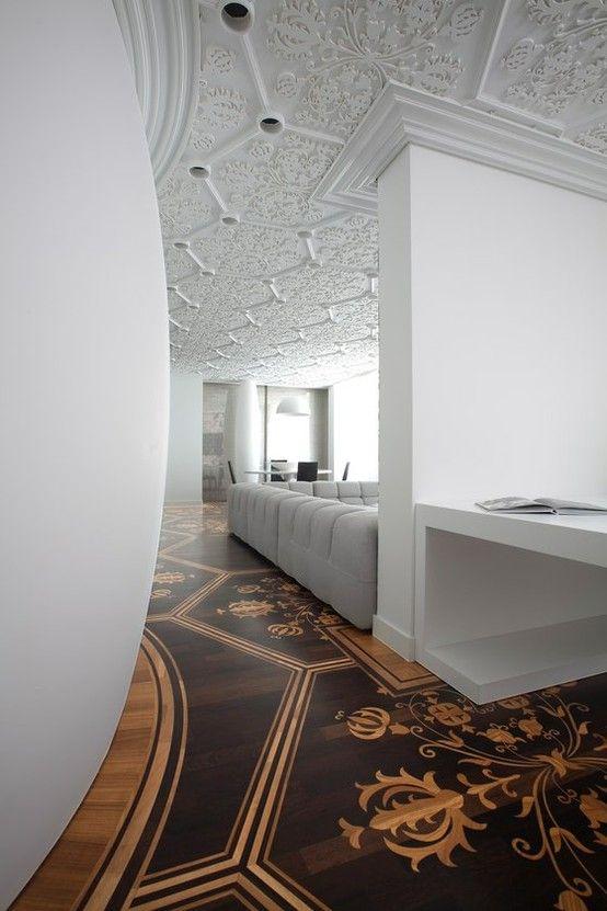 Exquisite Floor Detail & Ceiling