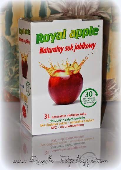 Rewelka Konkursuje i Testuje: Nowa współpraca - naturalny sok jabłkowy od Royal ...