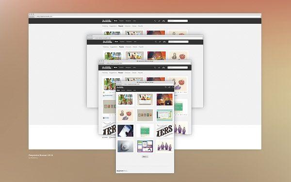 Responsive Browser UX kit