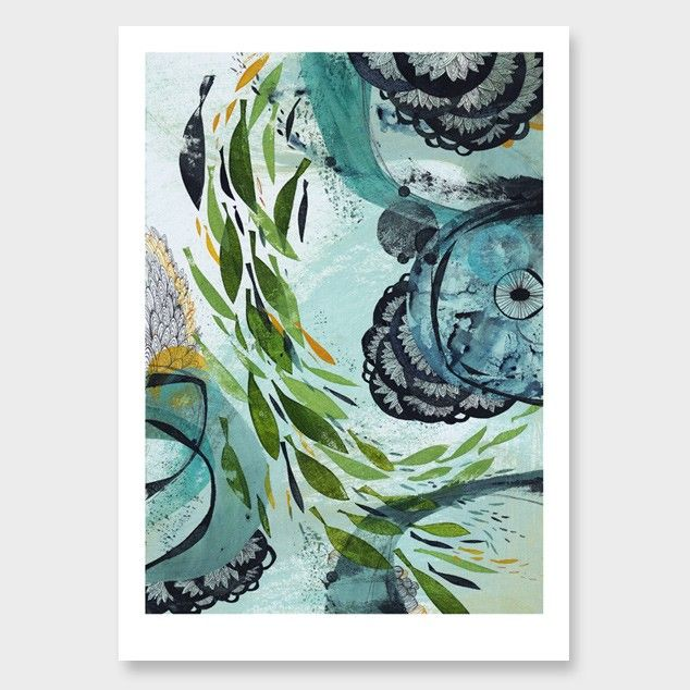 Surface Art Print by Holly Roach