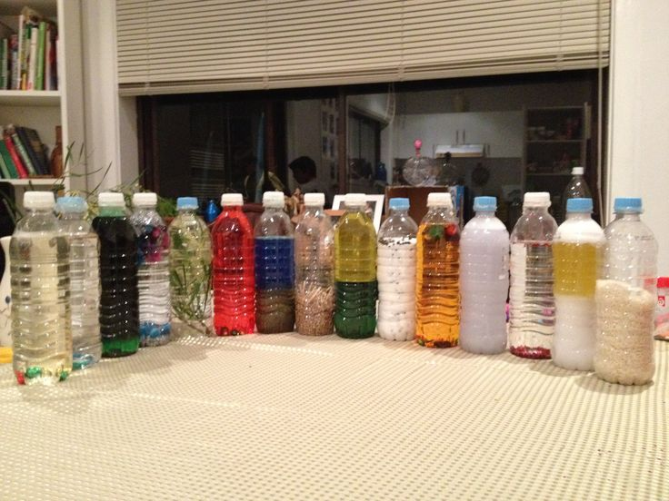 сенсорные бутылки