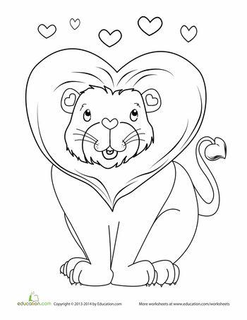 25 best ideas about Lion coloring