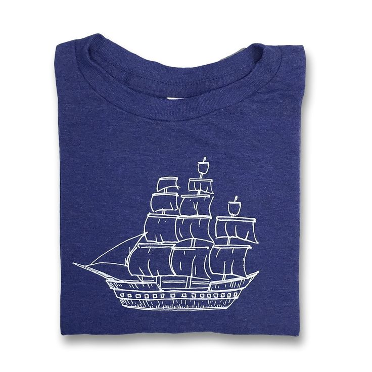 Pirate Ship Short Sleeve Tee