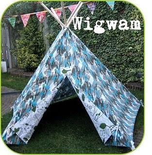 Wigwam / Teepee / Tipi DIY