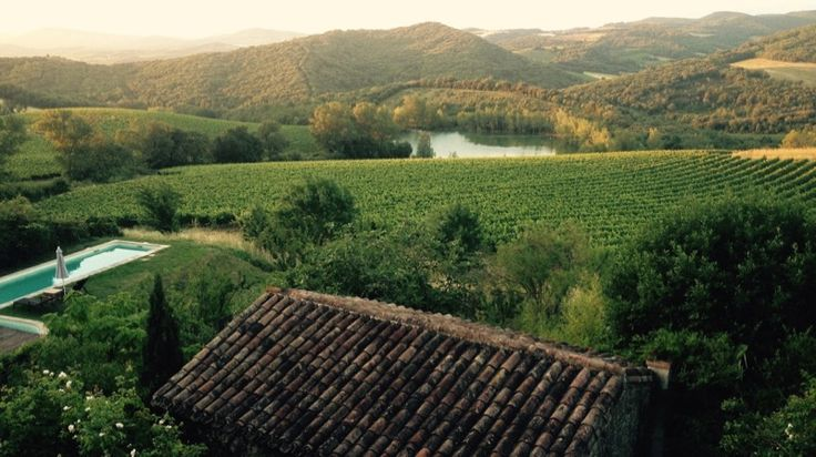 Le Domaine de Capies, lieu idyllique dans les Corbières…