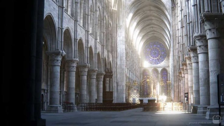 "3 shots of our ""catherdral project"", inspired by the Laon cathedral, france. Modelled in Autodesk 3ds max. Rendered with Corona Renderer Alpha version. Compo..."
