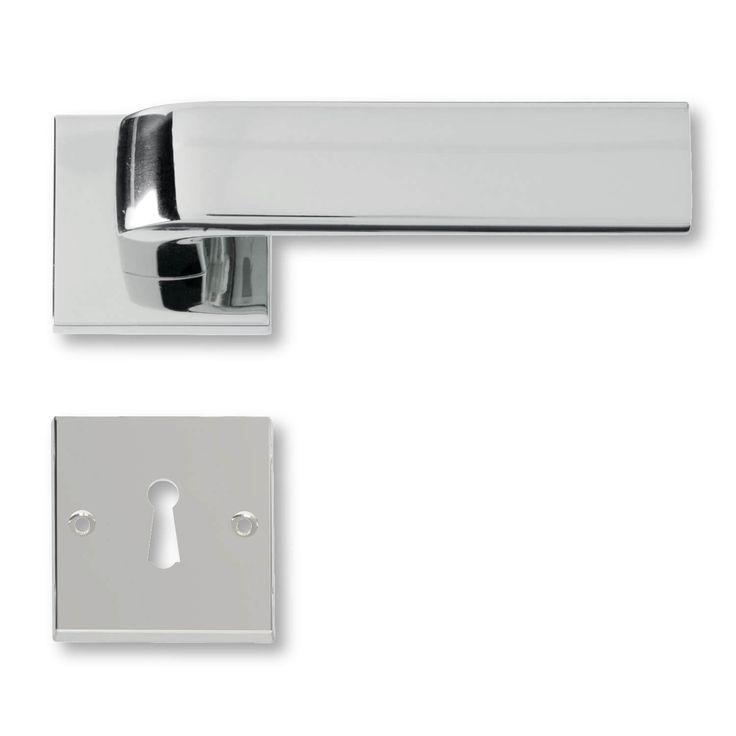 Dørgreb krom - Dørhåndtag fra 1930´erne Italiens designede dørgreb model C05411
