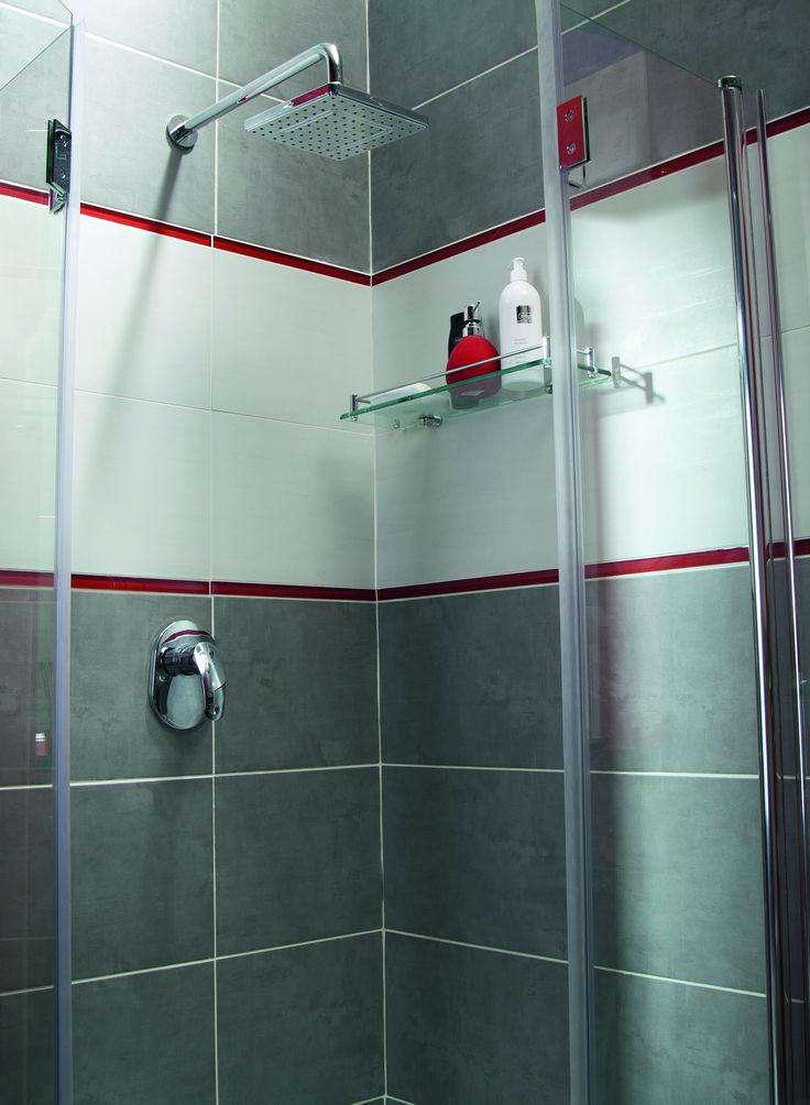 simple shower elegance #bathroom #obipolska #shower #diy