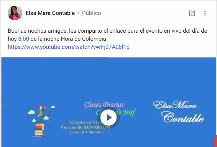 Buenas noches amigos, les comparto el enlace para el evento en vivo del día de hoy 8:00 de la noche Hora de Colombia https://www.youtube.com/watch?v=rFj27AL6l1E