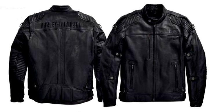 House of Harley-Davidson :: Harley-Davidson® Shop :: Men :: Leather Jackets :: Harley-Davidson® Men's Roadshow Switchback Lite Leather Jacket #harleydavidsonleatherjackets