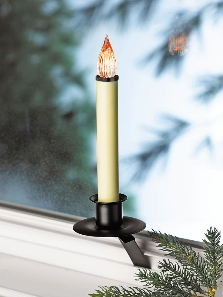Christmas Window Candles: LED Flameless Candle | Gardeners.com