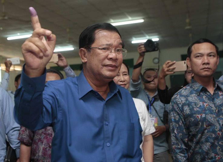 Hun Sen has repeatedly warned of civil war if his Cambodian People's Party loses the majority in city and village councils to the main opposition party, which had made major gains in the general election four years ago, when it claimed it was cheated out of outright victory.  On Friday, Hun Sen appealed to political parties to accept the election outcome rather than make accusations of irregularities, saying courts can dissolve any party if it challenges the result of the vote.  Earlier this…