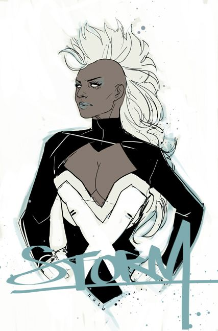 JUST MARVEL THINGS — failed-mad-scientist:   Storm - Phil Noto