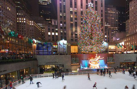 10 coisas para fazer em Nova York na época de Natal. Patinar no gelo, ver as vitrines, ver as casas decoradas, mercados de natal, shows especiais e mais