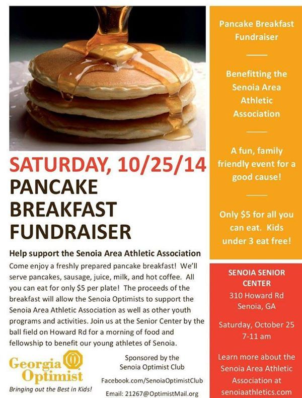 Join the pancake breakfast this Saturday! http://on.fb.me/1ykYJ6E