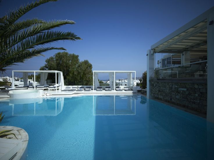 The temperature is rising! Summer is here! We invite you to cool down in one of our beautiful pools!   #Semeli #SemeliHotel #Mykonos