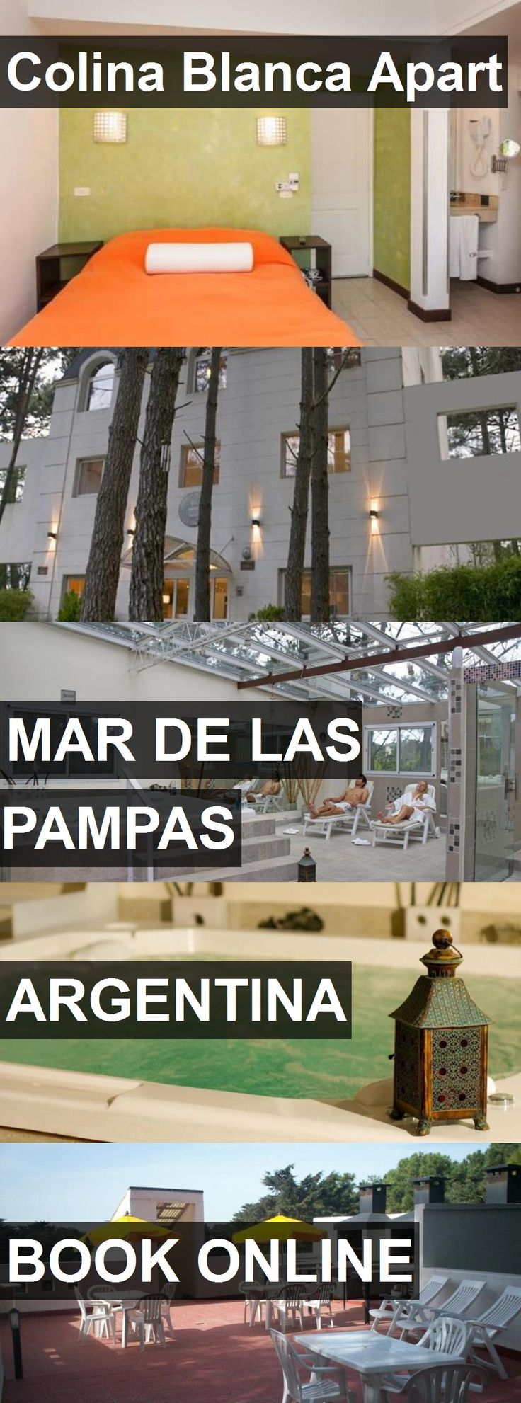 Hotel Colina Blanca Apart in Mar de las Pampas, Argentina. For more information, photos, reviews and best prices please follow the link. #Argentina #MardelasPampas #ColinaBlancaApart #hotel #travel #vacation