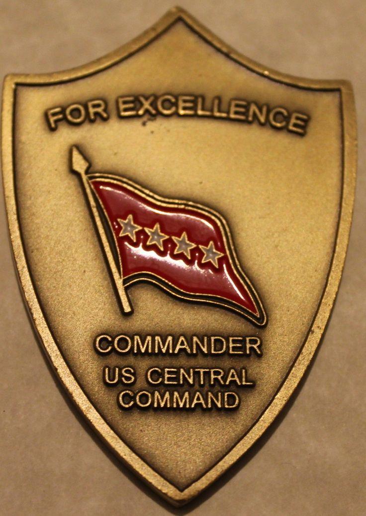 Gen David Petraeus Commander US Central Command CENTCOM Army Challenge Coin V1